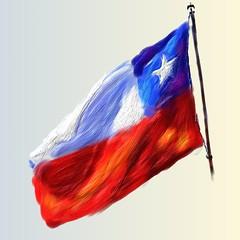 Čilská vlajka