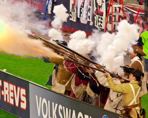 New England Revolution Goal!