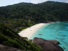 Donald Duck Bay on Similan Island No. 8 (Koh Similan)