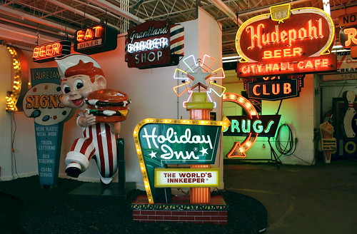 American Sign Museum entry, Cinci. Copyright Jen Baker/Liberty Images; all rights reserved.