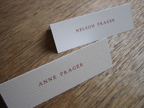 Monogram printable wedding place cards