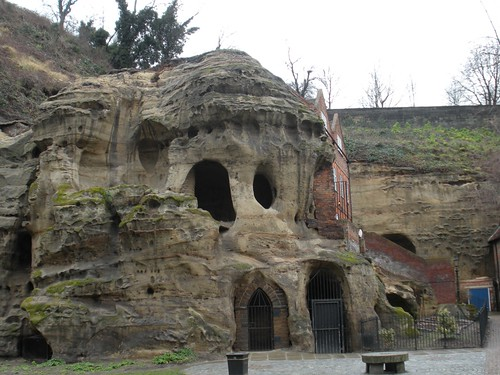 caves - Nottingham Castle