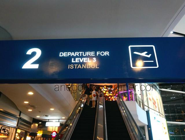 Terminal 21 三階 イスタンブール