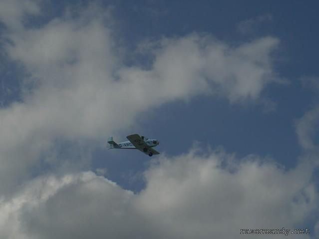 20 P1130859 Druine D.31 Turbulent {G-ARGZ} _ City Airport - 2009 (4th July)
