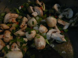 Eggplant Mushroom Curry - Step 1