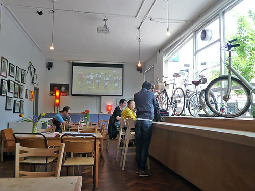 Look Mum No Hands! Cycle Café @ Clerkenwell
