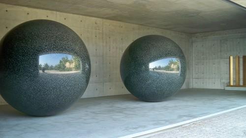 Sphères de granit / Naoshima