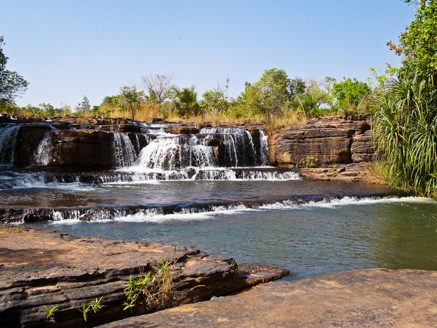 Wasserfall bei Banfora
