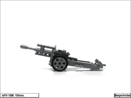 leFH 18M 105mm. de Panzerbricks