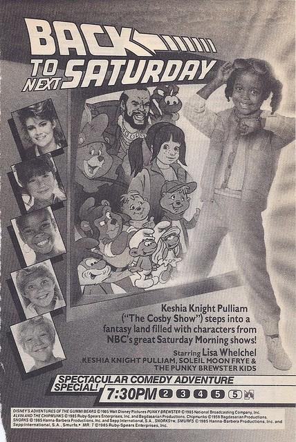 Saturday morning cartoons preview, 1985