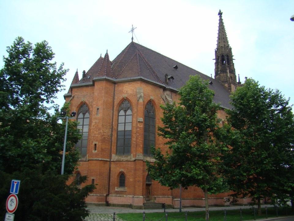 Brno Iglesia de Juan Amos Comenius Iglesia Roja Chequia 32