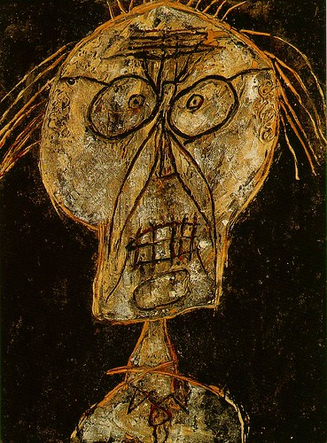 Dubuffet, Jean (1901-1985) - 1947 Dhotel Nuance d'abricot (Centre Pompidou, Paris) by RasMarley