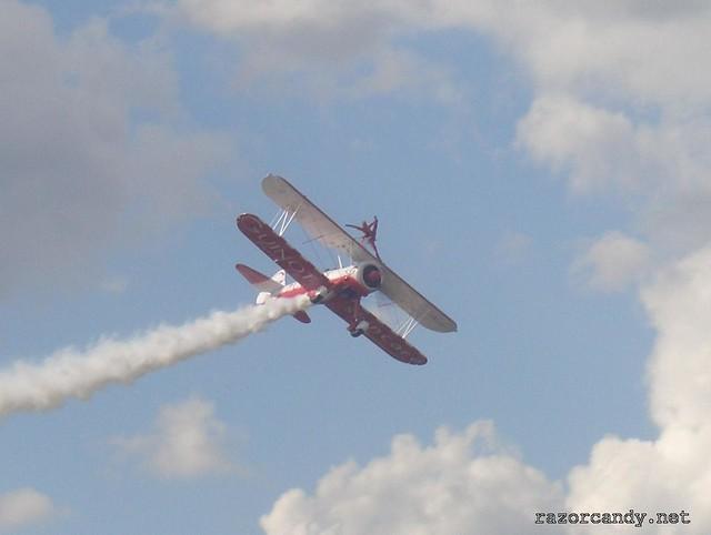4 CIMG4329 Team Guinot wingwalkers _ City Airport - 2007 (7th July)