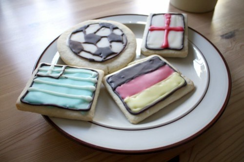 World Cup cookies from Celena's Bakery