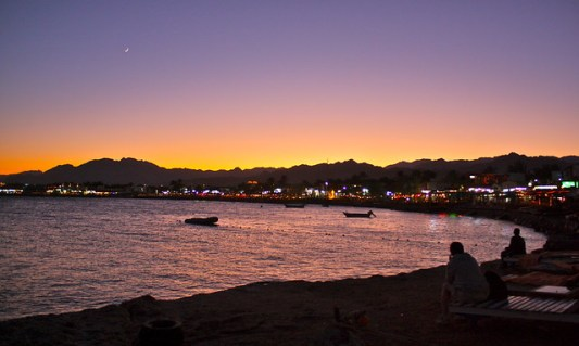 A Glorious Evening in Dahab