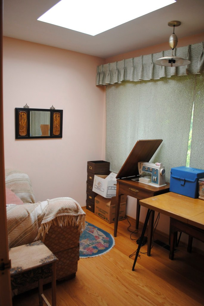 Grandma's Sewing Room - After