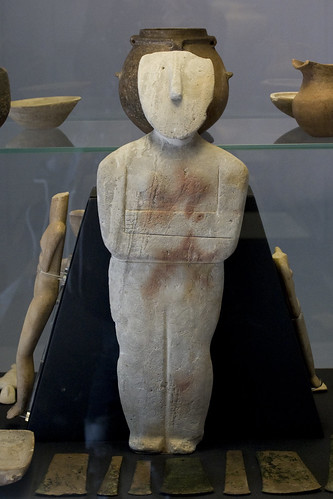 Spedos Figurine of a Woman (Cycladic)