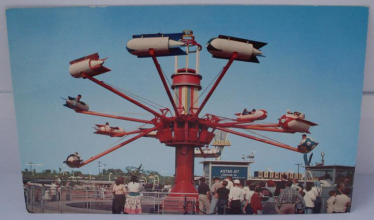 "Vintage Postcard ""Disneyland - Tomorrowland"""