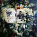 (TRIPDYTCH C) Ponder - MIXED MEDIA ON CANVAS, 52cm sq [2009]