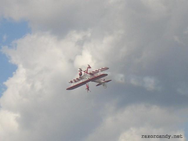 6 CIMG4332 Team Guinot wingwalkers _ City Airport - 2007 (7th July)