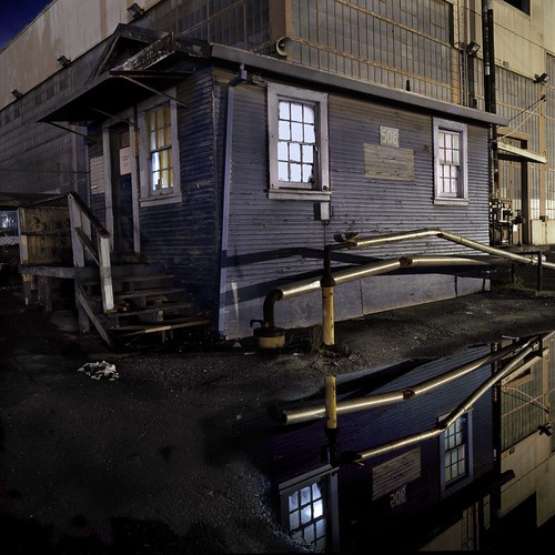Reflections of  Work Shack 508 Mare Island Naval Shipyard