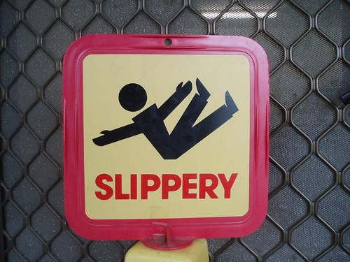 Slippery by Alan (Kaptain Kobold) CC Flickr