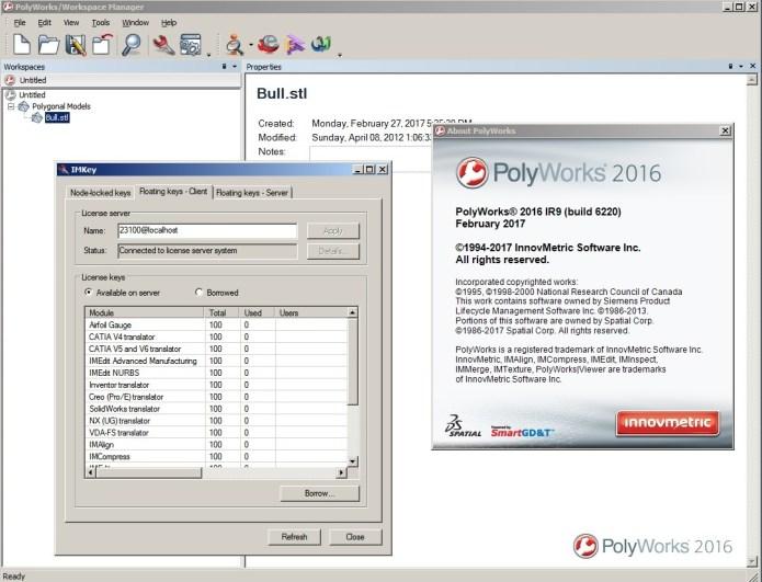 InnovMetric PolyWorks 2016 IR9 32bit 64bit full crack