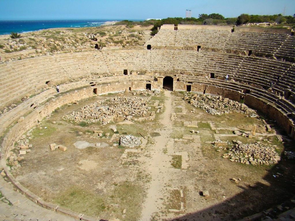 Anfiteatro y Circo Leptis Magna Libia 01