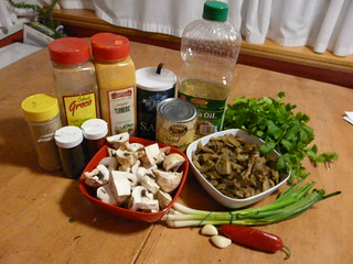 Eggplant Curry Ingredients