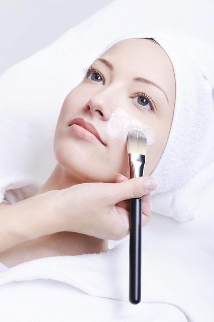 máscara facial rosto tratamento