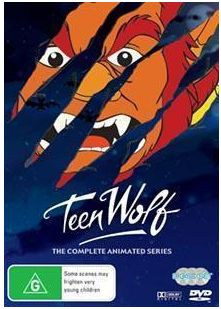 Teen Wolf cartoon DVD