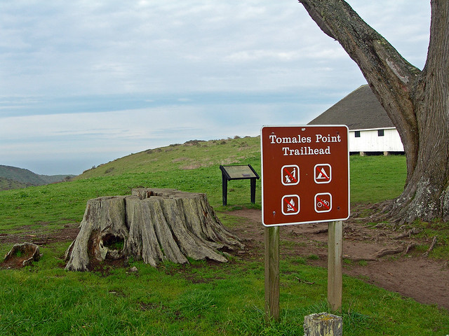 Tomales Point Trailhead at Upper Pierce Point Ranch