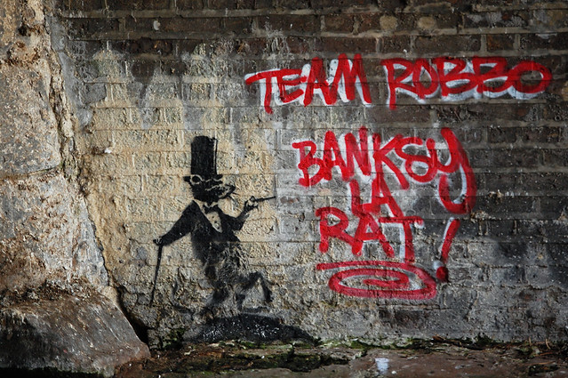 BANKSY Vs ROBBO TEAM