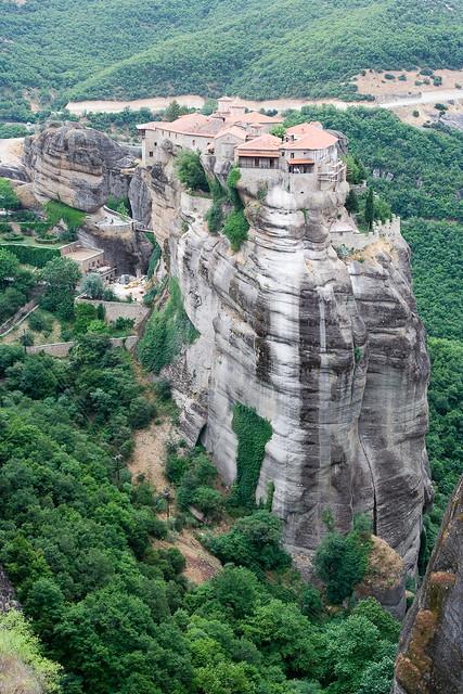 RTW itinerary, Monastery of Meteora
