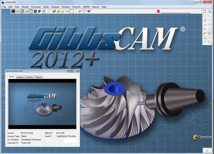 Working with GibbsCAM 2012 Build 10.3.21.0 win32 win64