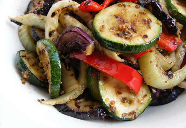 Oven-roasted Vegetables with Tabil