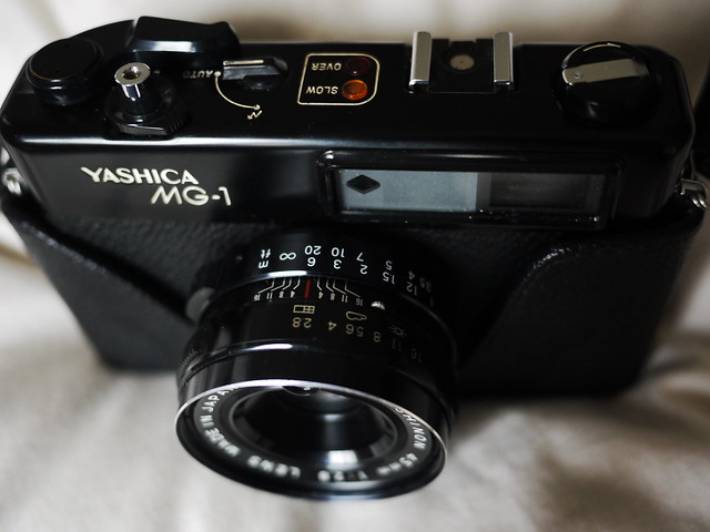 Yashica MG-1 (My late Grandad's pride and joy)
