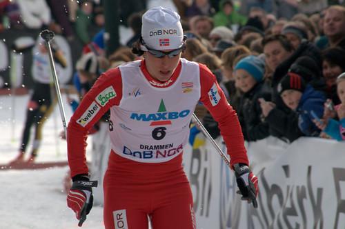 Drammen World Cup Ski Sprint 2010 Marit Bjørgen