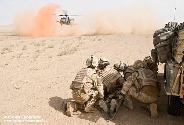 Casualty Evacuation, Afghanistan