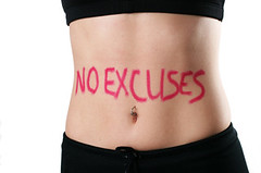 No Excuses - Begin Today!