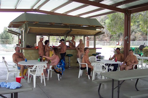 Deer Park Nudist Resort Tiki Hut by Deer Park Resort