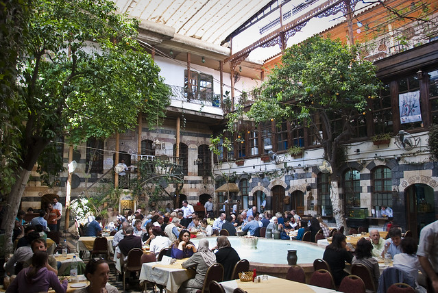 Damascus: restaurant Beit Jabri