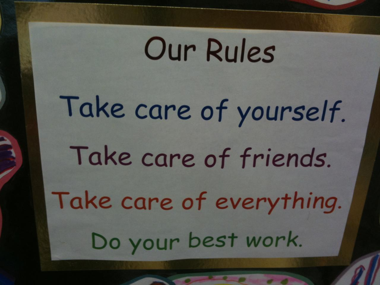 Kindergarten Rules Learning To Play Nice With Roommates