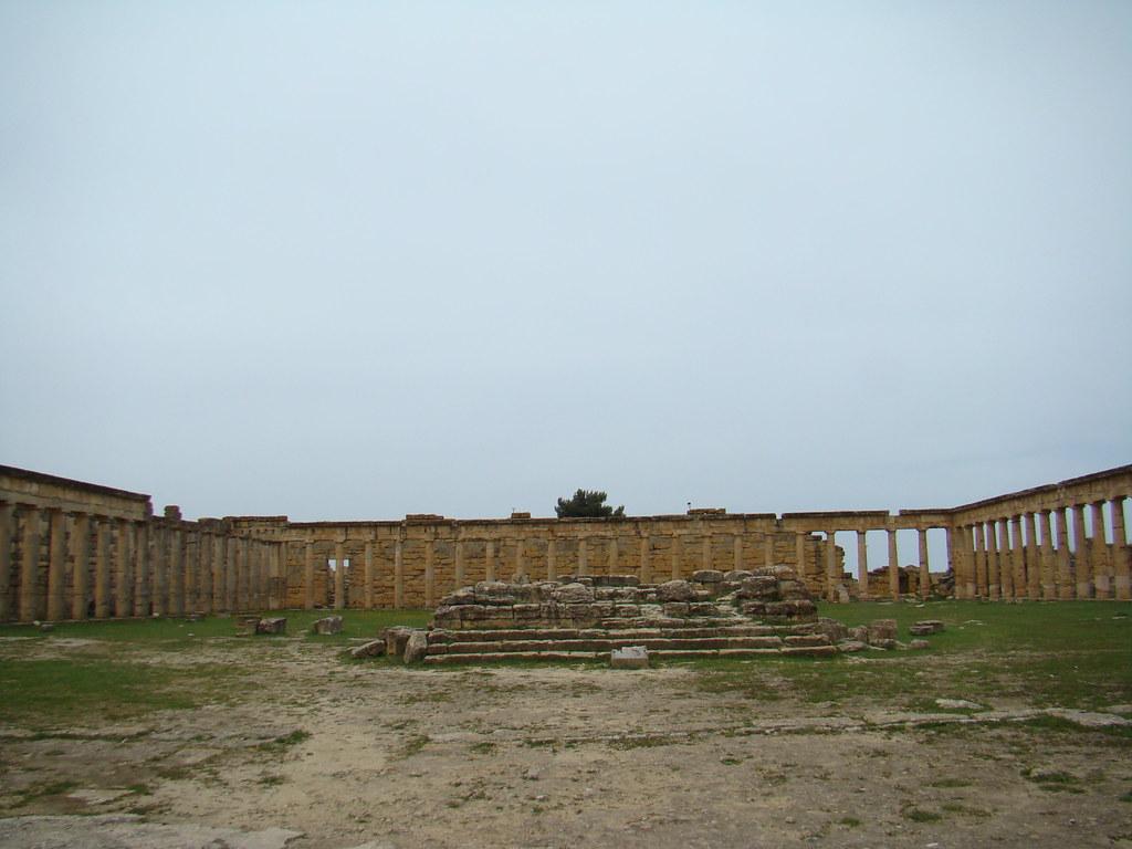 Cirene gimnasio Libia 05