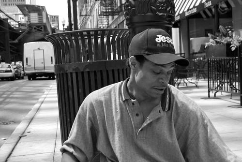 Chicago Panhandler Panhandling