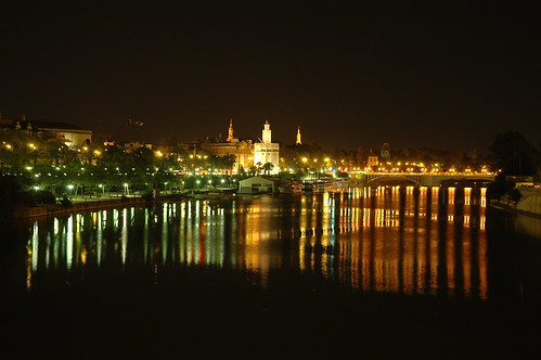 "Foto ""sevilla's night"" by -Dreamflow- - flickr"