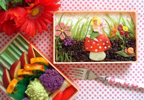 Fairy Garden Bento Retake #49 by Laura Bento