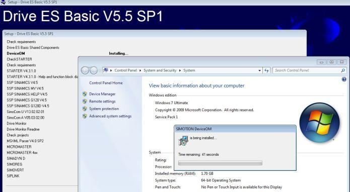 SIEMENS Drive ES Basic v5.5 SP5