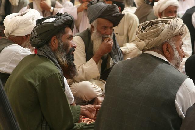 Afghan Officials, Elders Hold Shura in Marjah