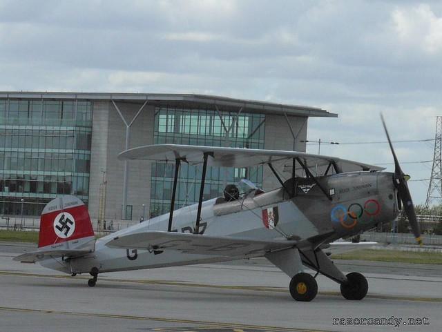 1 P1080372 Bücker Bü 131 'Jungmann' Casa 1-131 {G-BTDZ} _ City Airport - 2008 (5th July)